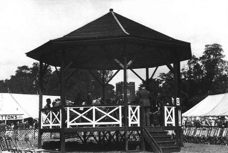 Bandstand at the Sandy Show 1920s