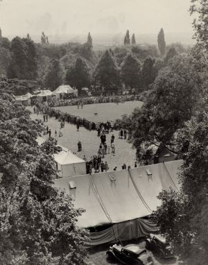 Show tents Sandy Show 1930s